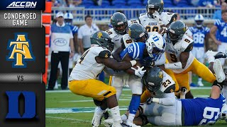 North Carolina A&T  vs. Duke Condensed Game   ACC Football 2019-20