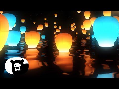 Hey Bear Relax - Lanterns - Relaxing Video - Calming Music - Stress Relief