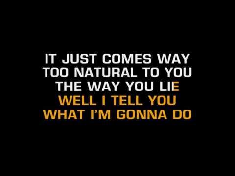 You Lie  The Band Perry  Karaoke Lyrics