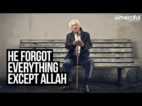 He Forgot Everything Except Allah - True Story