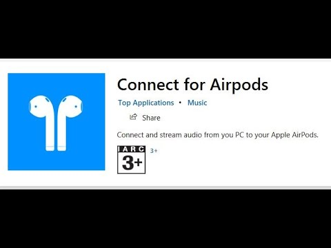 Connect For Airpods Windows App / Software