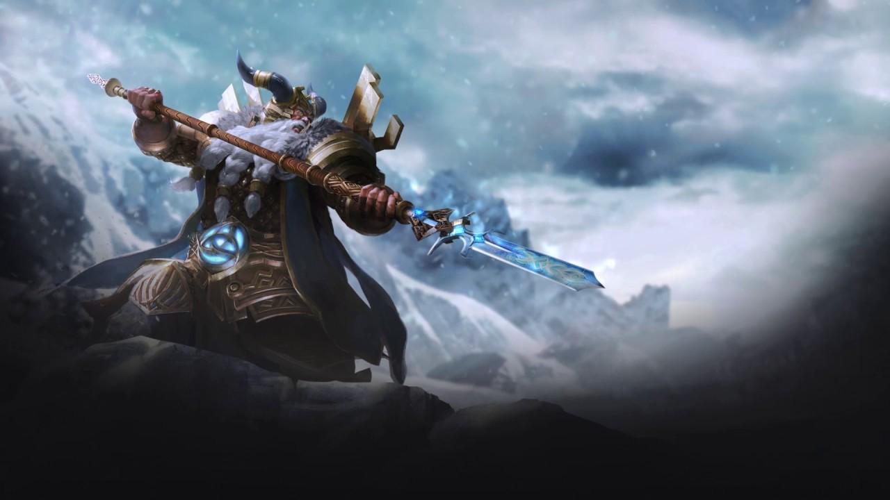 Smite Animated Wallpaper - Odin, The Norse Allfather