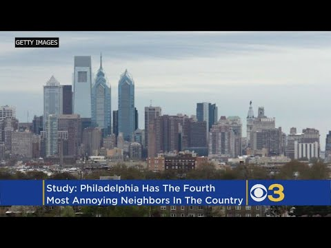Philadelphia Has Some Of The Most Annoying Neighbors In America: Study