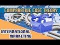 International Marketing : Trade Theory | Comparative Cost theory
