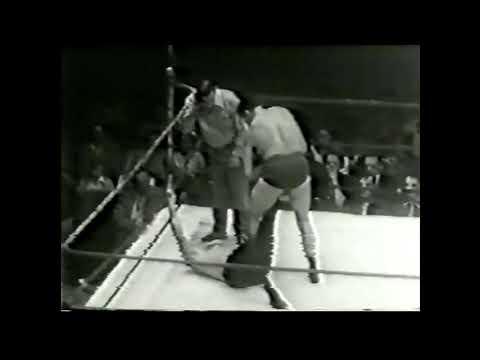 Sonny Myers vs Rudy Kay 1950s Chicago professional wrestling