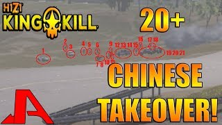 20+ CHINESE TAKEOVER US WEST SERVER! - H1Z1 King of the Kill - Weirdest Game EVER!