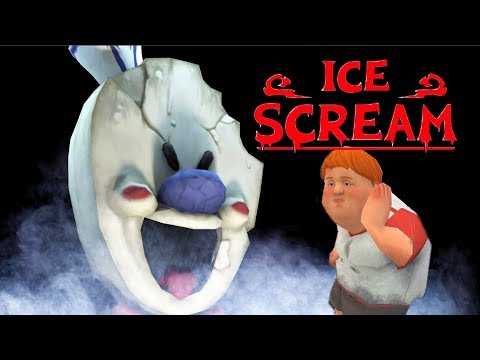 KILLER ICE SCREAM MAN NEW HORROR GAME Прохождение новой хоррор игры ICE SCREAM