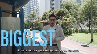 FOR SALE: Punggol Place 4 Room HDB 990sqft