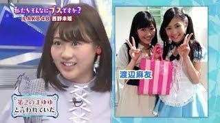 3月28日放送の「ナカイの窓」(日本テレビ系)に元AKB48の西野未姫がゲス...