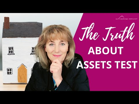 Age Pension Asset Test - THE TRUTH REVEALED!