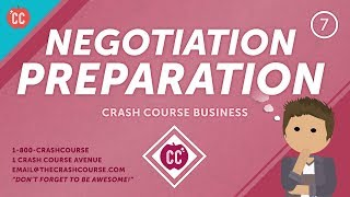 Prepare to Negotiate Your Salary (Or Anything): Crash Course Business - Soft Skills #7