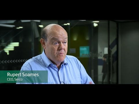 'Wise virgin meerkats' succeed in business, thoughts from Rupert Soames CEO of Serco