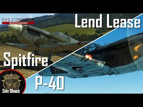 Lend Lease Day - P-40 / Spitfire  MkVb - IL-2: Battle of Stalingrad