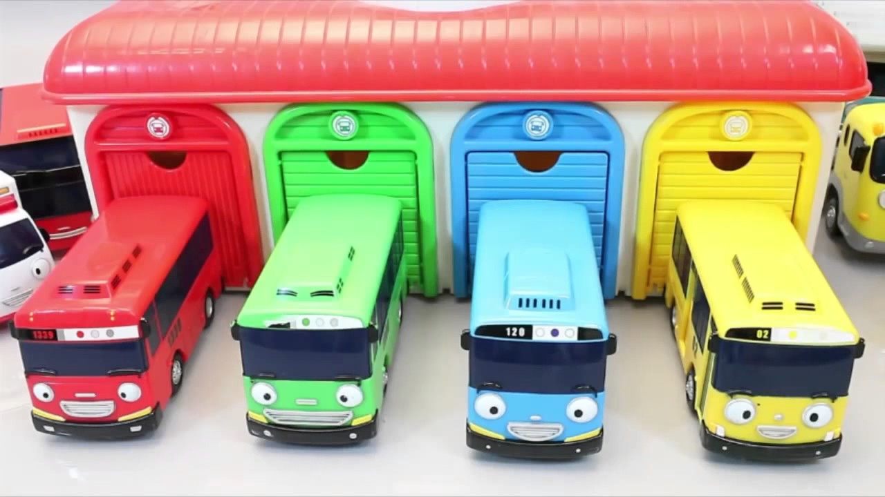 Tayo The Little Bus Robocar Poli Cars Learn Colors