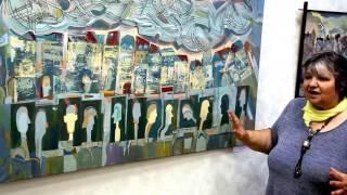 В Запорожье открылась выставка скульптуры и живописи «Ощущение образа» Екатерины и Владимира Немиры