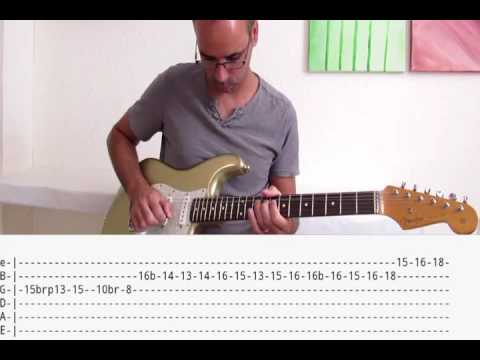 Queen-Somebody to love solo lesson+tabs - YouTube