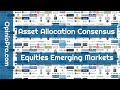 Asset Allocation Consensus Equities Emerging Markets January 2019