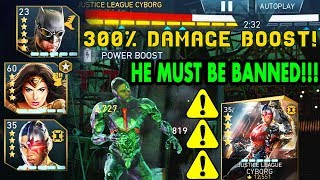 Injustice 2 Mobile. Justice League Cyborg IS WAY OVERPOWERED! Justice League Team Insane Gameplay!