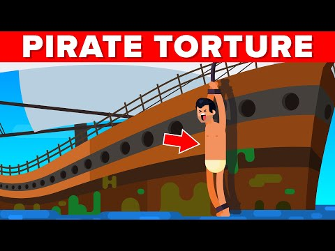 Keelhauling Pirate Torture - Worst Punishments in the History of Mankind