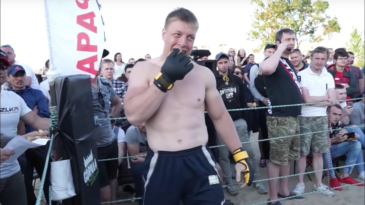 ОГРОМНЫЙ МУЖИК против Чемпиона MMA 130кг !!