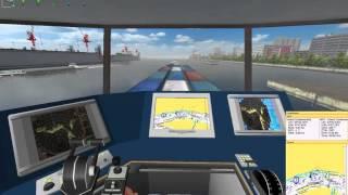 Ship Simulator 2006 (Mission 002) Cargo ship