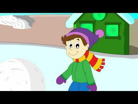 Wintertime! Educative Cartoon About Winter For Children. Winter Cartoon For Kids