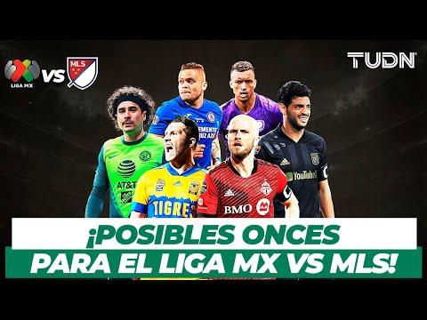 🔥¡EQUIPAZOS! Las posibles alineaciones para el duelo entre Liga BBVA MX y MLS   TUDN