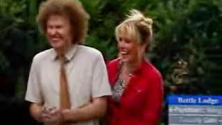 Jill and Glen feed the ducks - Nighty Night - BBC comedy