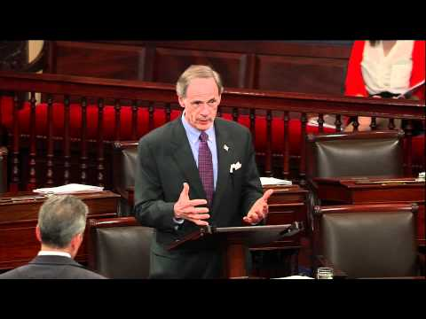 Sen. Tom Carper Speaks on Funding the Sussex County Airport