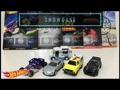 Repeat Showcase - Hot Wheels 2019 Entertainment Series
