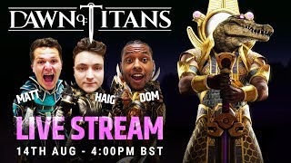 DAWN OF TITANS LIVE | GODS UNBOUND | SOBEK ARRIVES!