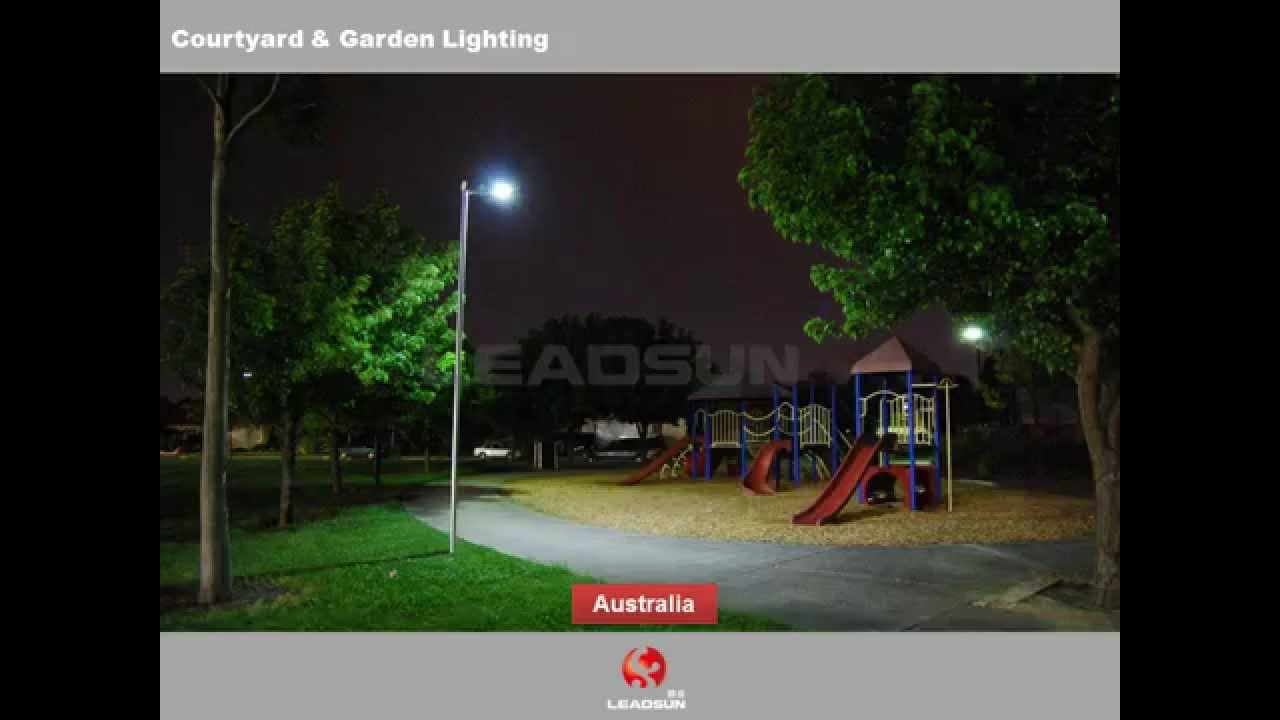 Leadsun Best Quaity All in One Solar Led Street Light All Around the World