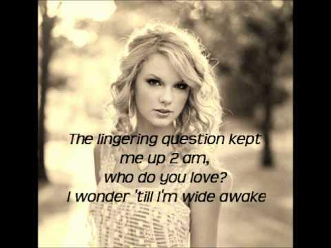 Taylor Swift Enchanted Lyrics | TheBedardz