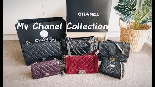 My Chanel Bag Collection | 香奈儿包包合集+新包开箱 Chanel Unboxing |Classic Flap |Le Boy |Gabrielle