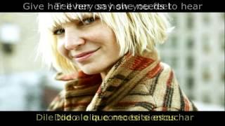 Sia - Salted Wound lyrics subtitulado español
