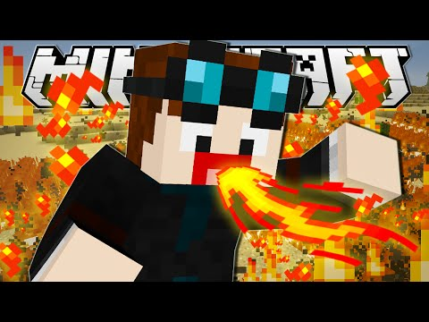 Minecraft | I'M A FIREBENDER!! | Custom Command
