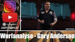 Throw like Gary Andęrson - Gary Anderson Wurfanalyse #2 Gary Anderson Throw