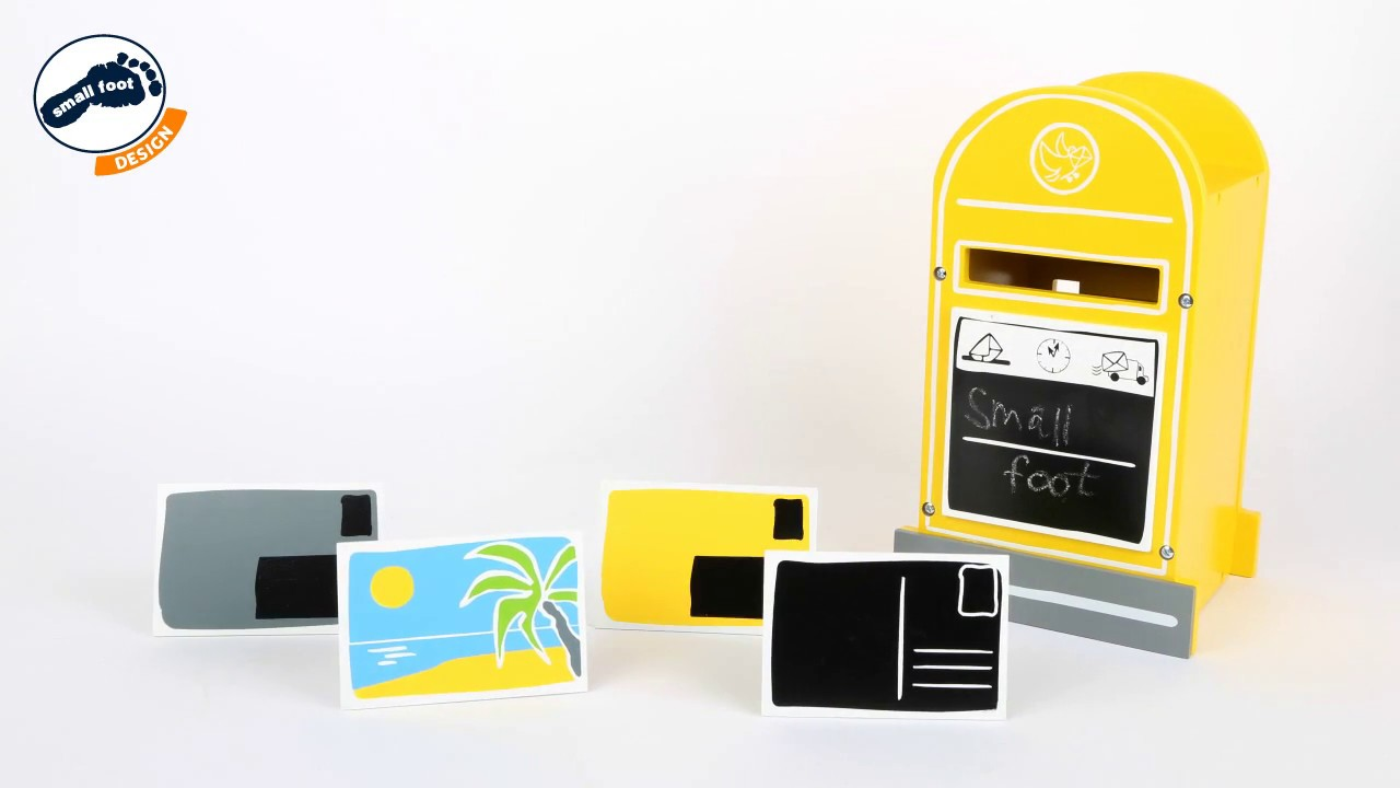 Small Foot Design Briefkasten Mailbox Youtube
