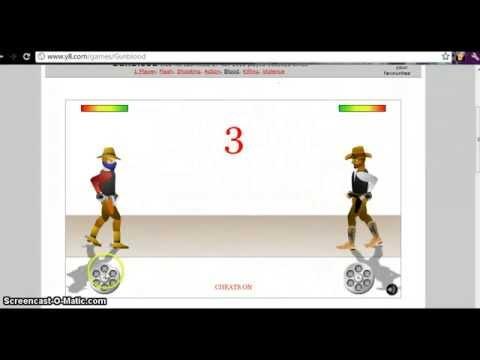 Game Tips:GUN BLOOD cheats y8.com