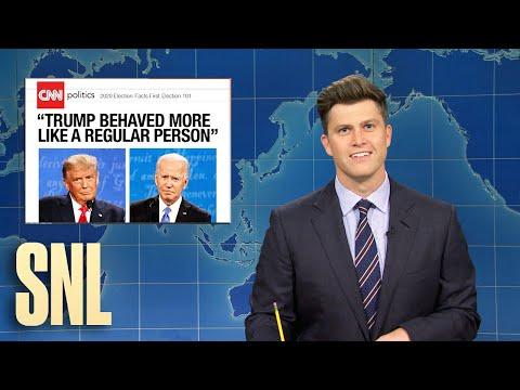 Weekend Update: Final Presidential 2020 Debate - SNL