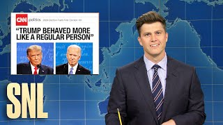 Weekend Update: Final Presidential 2020 Debate - SNL