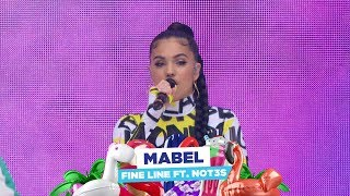 Baixar Mabel - 'Fine Line feat NOT3s' (live at Capital's Summertime Ball 2018)