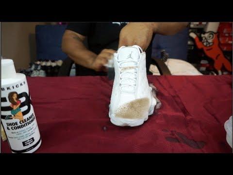 EBKICKS CLEAN JORDAN Retro 13 Low | Deep Clean for My Boy Kameron|