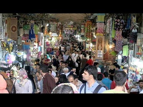 Teherans Basar: Händler im Iran hoffen auf bessere Zeiten