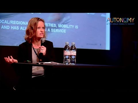 Karen Vancluysen - The Role of Cities in MaaS: A Study