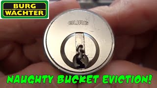 (1334) Burg Cabinet Lock Evicted From The Naughty Bucket!