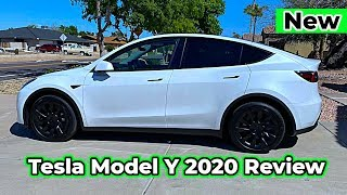 2020 New Tesla Model Y Review Interior Exterior