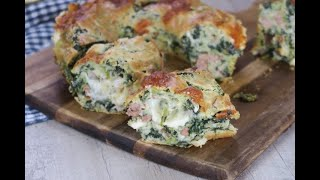 Savory bundt cake with sausage and broccoli rabe: you are going to love this savory cake!