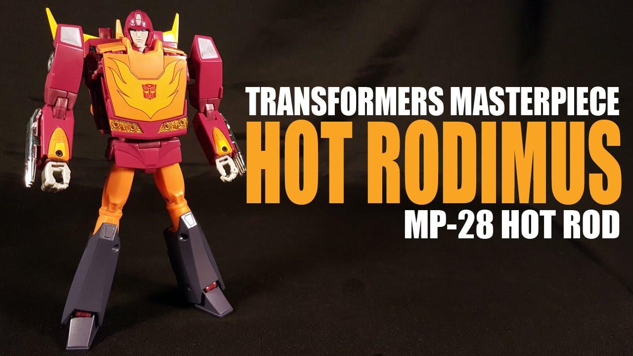 Transformers Masterpiece MP-28 Hot Rodimus Cybertron Cavalier Action Figure New