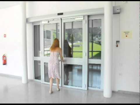 Camus Fire Resistant Automatic Sliding Door Ei30 Doorson